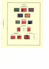 US Scott Louisiana Purchase, jamestown, alaska yukon  CV (orange box