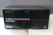 SIGMA 70-200mm f/2.8 EX DG APO OS HSM für Nikon
