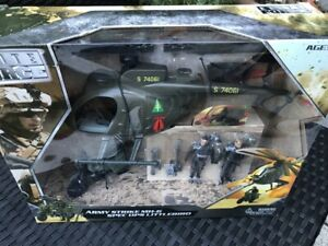 Elite Force 21st Century Toys Helicopter Little Bird US Army 1:18 Set Motorrad
