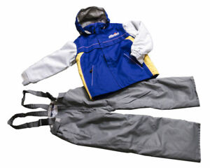 Teen Kid Boy Girl Snow Suite Jacket and pants size 130 cm