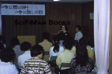 KODACHROME 35mm Slide Asia Japan? Meeting Pretty Women Podium Fashion 1972!!!