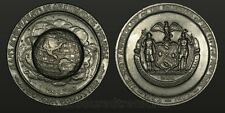 1964-1965 World's Fair Pewter Medal 300th Anniversary of city of New York