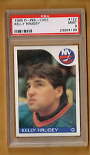 1985-86  OPC Kelly Hrudey  Rookie #34  PSA 9