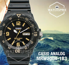 Casio Diver Look Analog Watch MRW200H-1B3