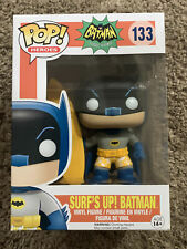 Funko 133 SURFS UP BATMAN Batman Classic TV Pop Heroes subtle creases on box
