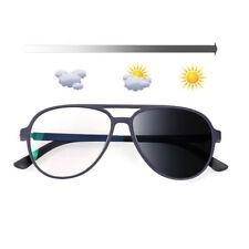 Fashion Photochromic Reading Glasses Color Change Men Sunglasses Reader Eyewear