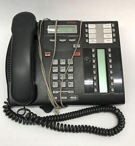 Nortel Networks Avaya T7316E Business Phone Charcoal Black