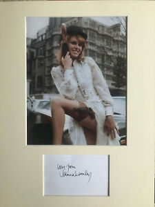 Joanna Lumley Autograph - The New Avengers - Signed Card & 10x8 Photo - AFTAL