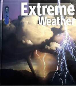 EXTREME WEATHER by H Micheal Mogil * meteorology tornadoes hurricane book photo