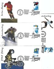 Extreme Sports 4 Diff FDC Fleetwood Cachet #3321-24 B6528