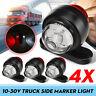 4pcs Corner Side Marker LED Lights Outline Lamp Caravan Truck Lorry Trailer Bus
