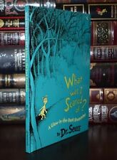 What was I Scared of by Dr. Seuss Brand New Illustrated Gloving Hardcover Gift