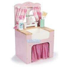 Le Toy Van Honeybake Wooden Home Kitchen Sink Pretend Play Toy