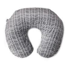 New listing Kids N Such Arrow Nursing Pillow Cover Gray White Herringbone Print-Boppy cover