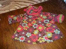 CORKY AND & COMPANY GIRLS 18M 18 MONTHS FLORAL COAT