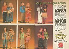 X9578 The Sunshine Family - Vesti la Famiglia Felice - Pubblicità 1976 - Advert.