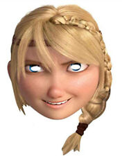 Astrid - How To Train Your Dragon 2 Official Single Card Party Face Mask Viking