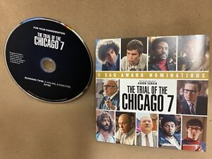 THE TRIAL OF THE CHICAGO 7, FOR YOUR CONSIDERATION MOVIE DVD SCREENER