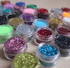 Glitter Pots Nail Art Pre-Mixed Acrylic Powder Fine Festival Glitter Mix NSI 5g