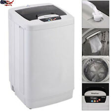Portable Small Compact Washing Machine Fully Automatic 12LBS Spin Single Tube US