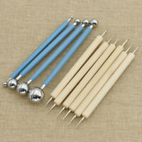 5/4PCS Ball Stylus Dotting Tools Clay Pottery Modeling Rock Painting Sculpting