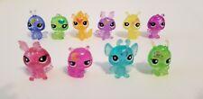 Littlest Pet Shop LPS Moondust Fairies Friends Glitter Figures Lot 10