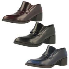 Block Patternless Regular Heels for Women