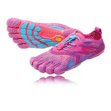 Vibram Bikila EVO Womens Pink Blue Barefoot Running Road Shoes Trainers, Size 7