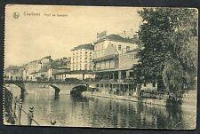 C1920's View of the Bridge over the River Sambre, Charleroi