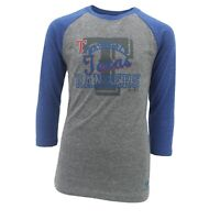 Texas Rangers Official MLB Adidas Kids Youth Girls Size 3/4 Sleeve Shirt New