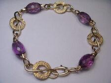 Handmade Amethyst Fine Gemstone Bracelets