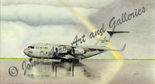 "C-17A Globemaster III ""Pot of Gold"" Giclee & Iris Art Prints by Willie Jones, Jr"