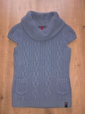 >>> QS by s.Oliver Pullover kurzarm Strickpullover Gr. M 38 lila NP 39,95 € <<<