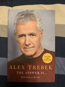 Alex Trebek - The Answer Is: Reflections on My Life NEW Hardcover Book Jeopardy