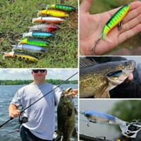 Whopper Plopper Topwater Floating Fishing Lures Rotating Tail for Bass Chu Fast
