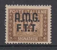 ITALY - TRIESTE - AMG-FTT - Tax 13  cv 60$  MNH**  overprinted on 2 lines