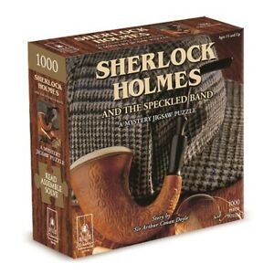Bepuzzled Puzzle Sherlock Holmes a Mystery Jigsaw Puzzle 1000 Pieces