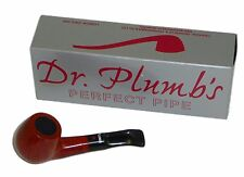 Dr Plumb Dinky Flat Bottom Briar Pipe - Orange Colour - 4512Orange