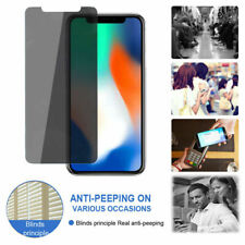 For iPhone 11 X XS XR XS Max 8+ Privacy Anti Spy Tempered Glass Screen Protector