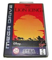 The Lion King Sega Mega Drive PAL *Complete* Silver Edition