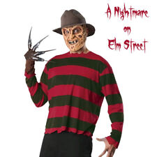 Freddy Kreuger Costume Adult Horror Halloween Nightmare on Elm Street Creepy