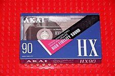 AKAI  HX   90                     BLANK CASSETTE TAPE (1) (SEALED)