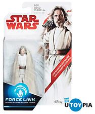 """STAR WARS THE LAST JEDI - Luke Skywalker (Jedi Master) 3.75"""" Figure [FORCE LINK]"""