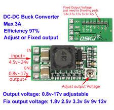 DC-DC Buck Converter Step down 5-24V to 1.5V 3.3V 5V 9V 12V 2A Adjustable Module