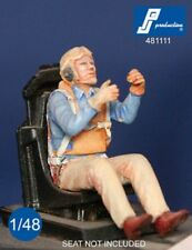 1/48 PJ PRODUCTION US NAVY GUNNER SEATED IN AIRCRAFT (WWII)