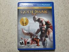 God of War Collection (Sony PlayStation Vita, 2014) Complete in Box