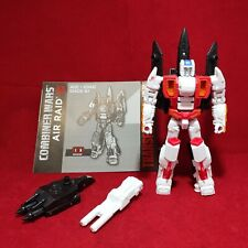 Transformers Generations Combiner Wars Deluxe AIR RAID figure Superion Complete