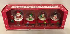 Santa's Snow Globe Train - Ornament - Brand New
