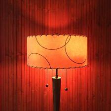 Mid Century Modern Vintage Style Fiberglass Custom Atomic Retro Lamp Shade