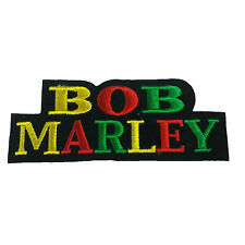 BOB MARLEY Embroidered Rock Band Iron On or Sew On Patch UK SELLER Patches